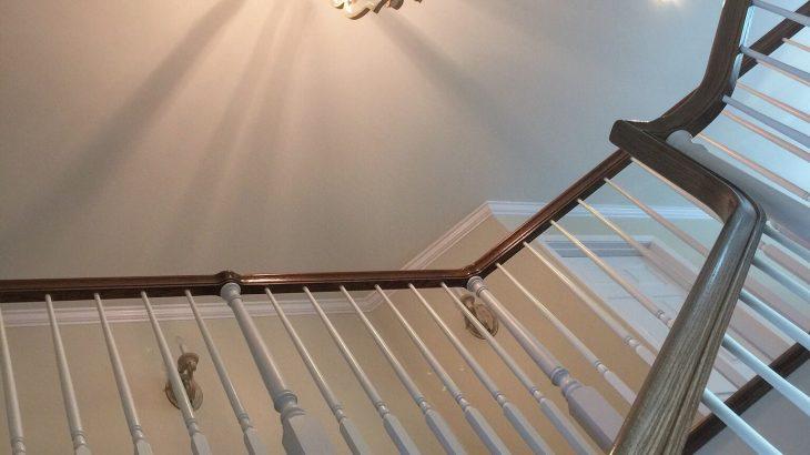 施工実例 -階段スペース-