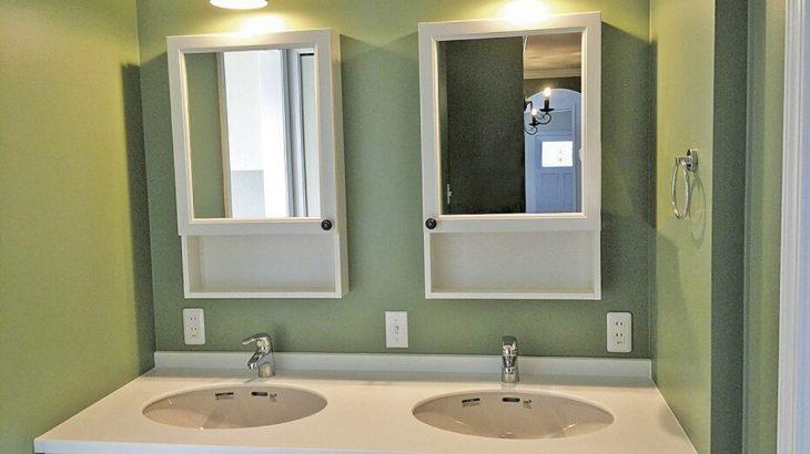 実例 -洗面スペース-