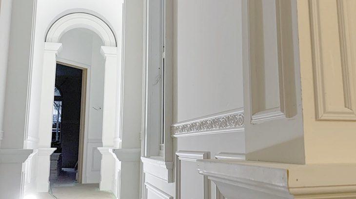 建築中 -廊下-