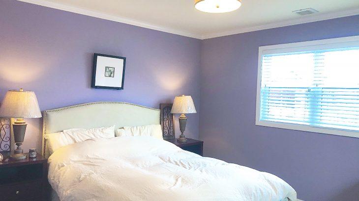 実例 -ベッドルーム-