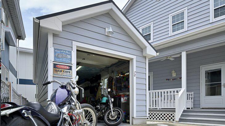 実例 -バイクガレージ-