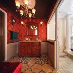 実例 -パウダールーム&浴室-